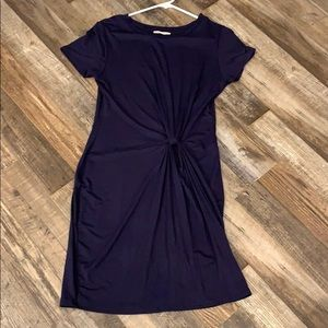 Cotton fitted dress
